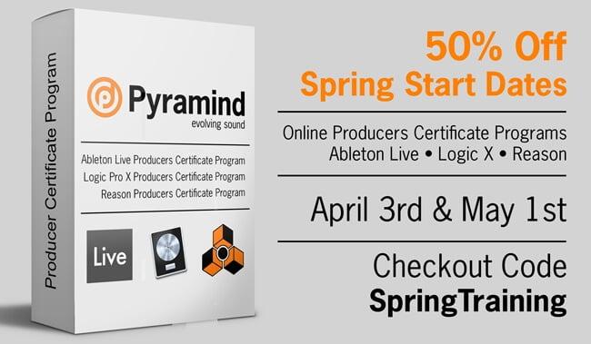 Pyramind Spring Sale