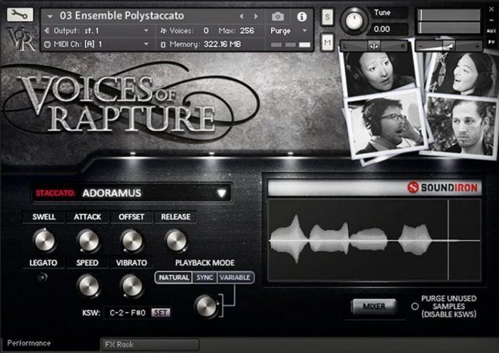 Soundiron Voices of Rapture