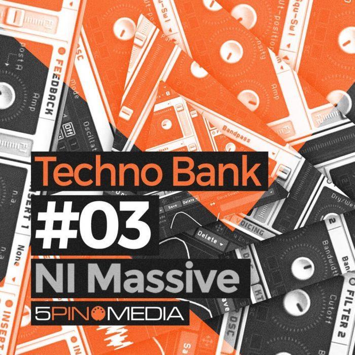 5Pin Media Techno Bank 03 for Massive