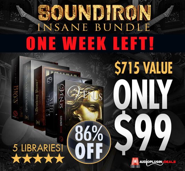 Audio Plugin Deals Soundiron Bundle Week