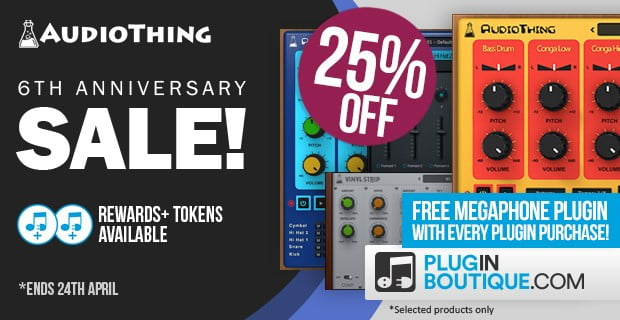 AudioThing 6th Anniversary Sale