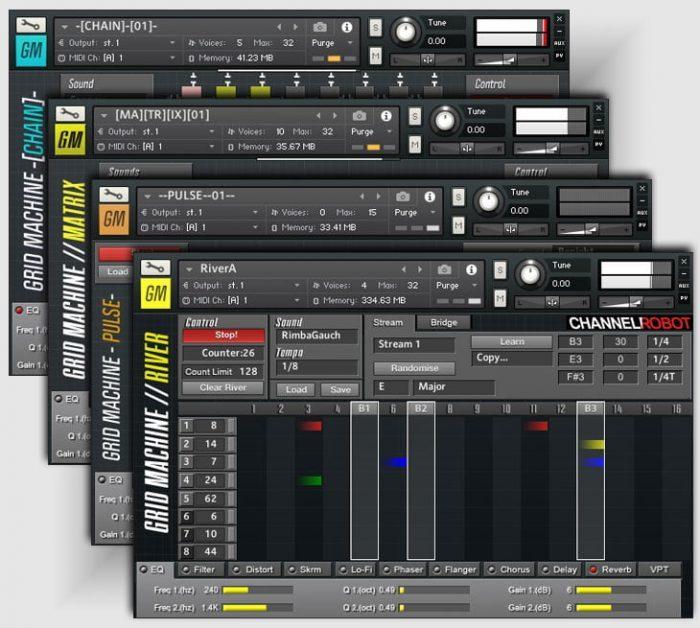 Channel Robot Grid Machine Drums