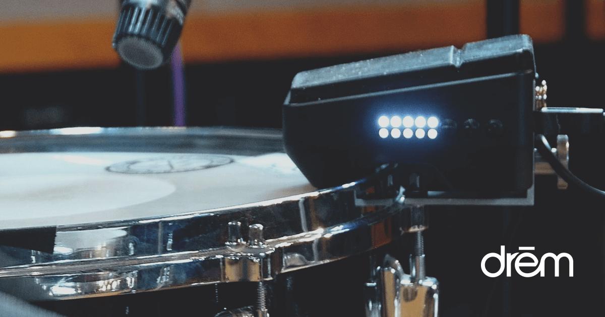 DrēmTrigger MIDI drum trigger launched on Kickstarter