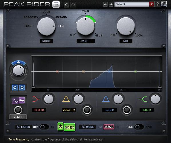 Impact Soundworks Peak Rider 2 Internal Sidechain Synth