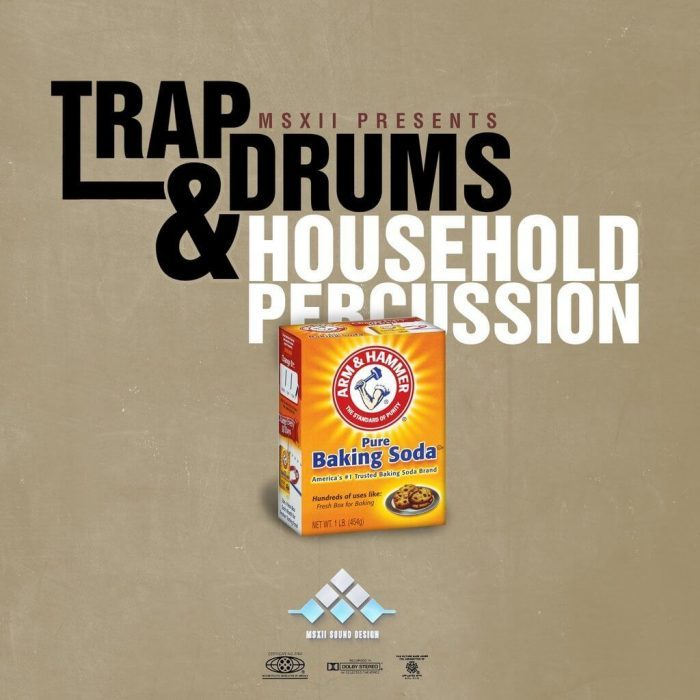 MSXII Trap Drum & Household Percussion