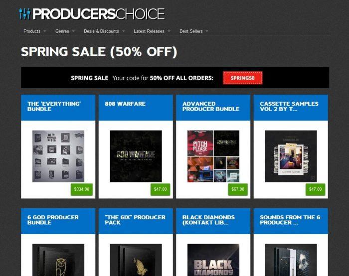 Producers Choice Spring Sale 2017