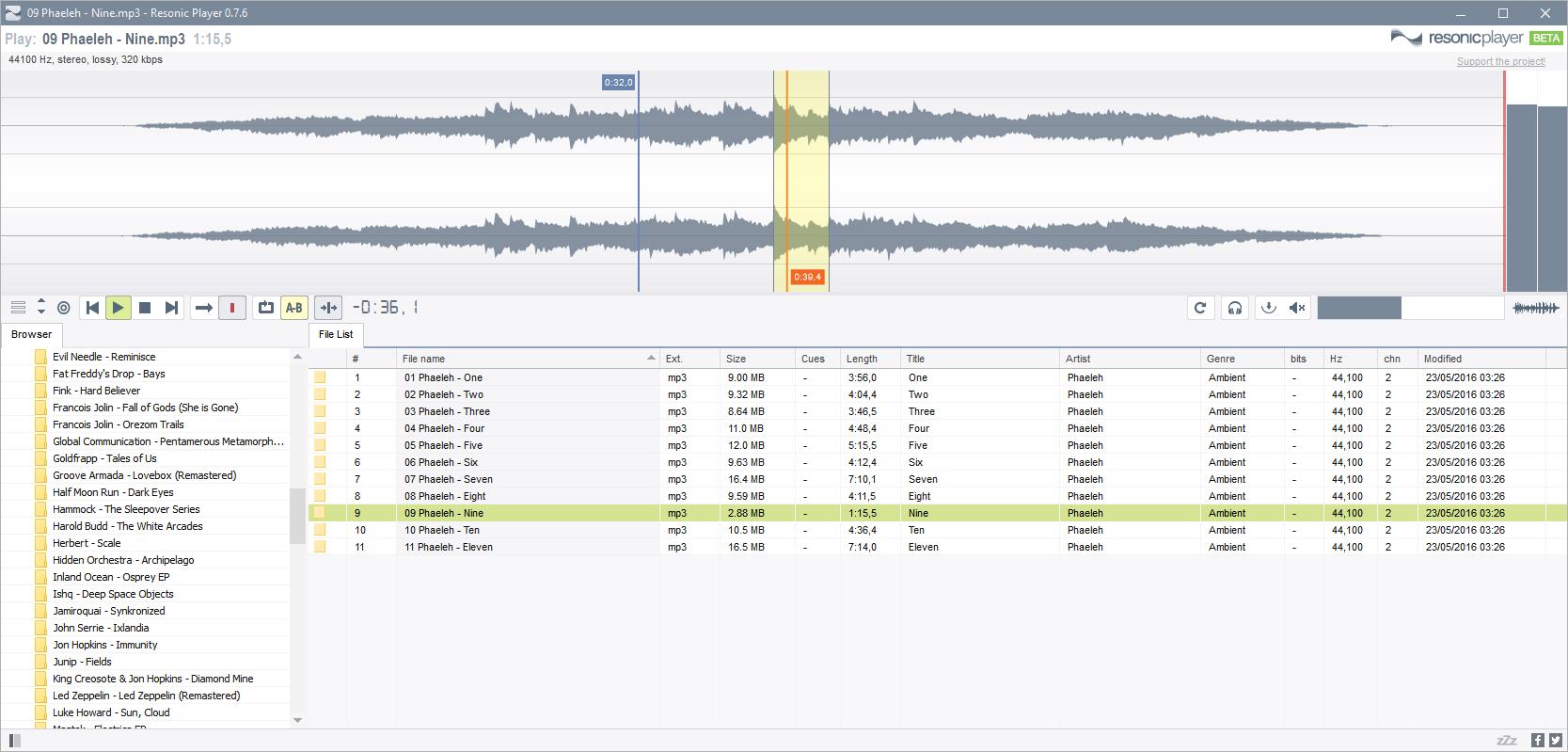 Liqube Audio updates Resonic Player & Resonic Pro to v0 8 6b