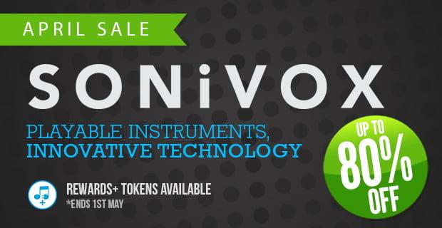 Sonivox April Sale