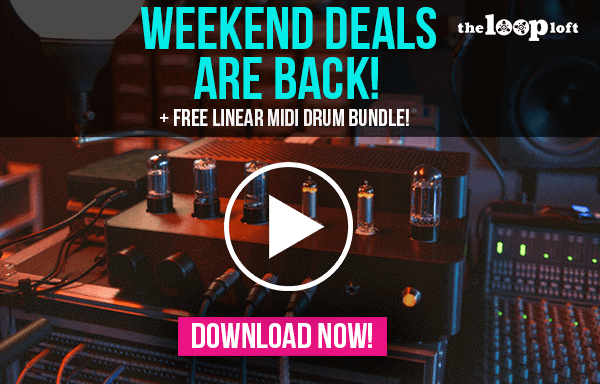 The Loop Loft Weekend Deals Linear MID Drum Bundle
