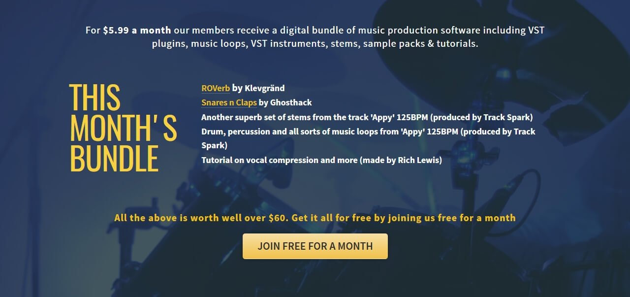 ROVerb reverb/delay, Ghosthack samples & more at Track Spark