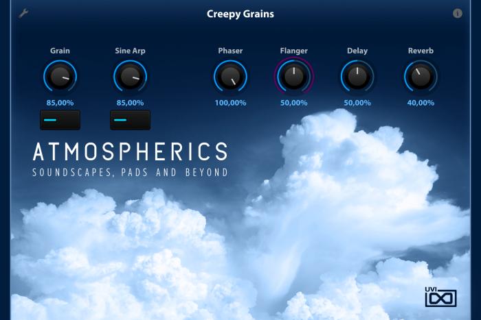 UVI Atmospherics for Falcon Creepy Grains
