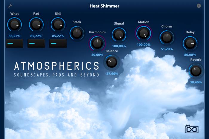 UVI Atmospherics for Falcon Heat Shimmer