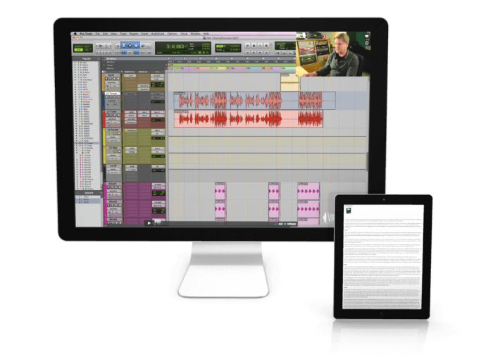 VIProducer Simon Gogerly Audio Mixing Course screen