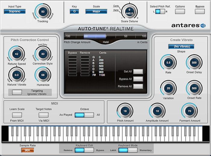 Antares Auto Tune Realtime