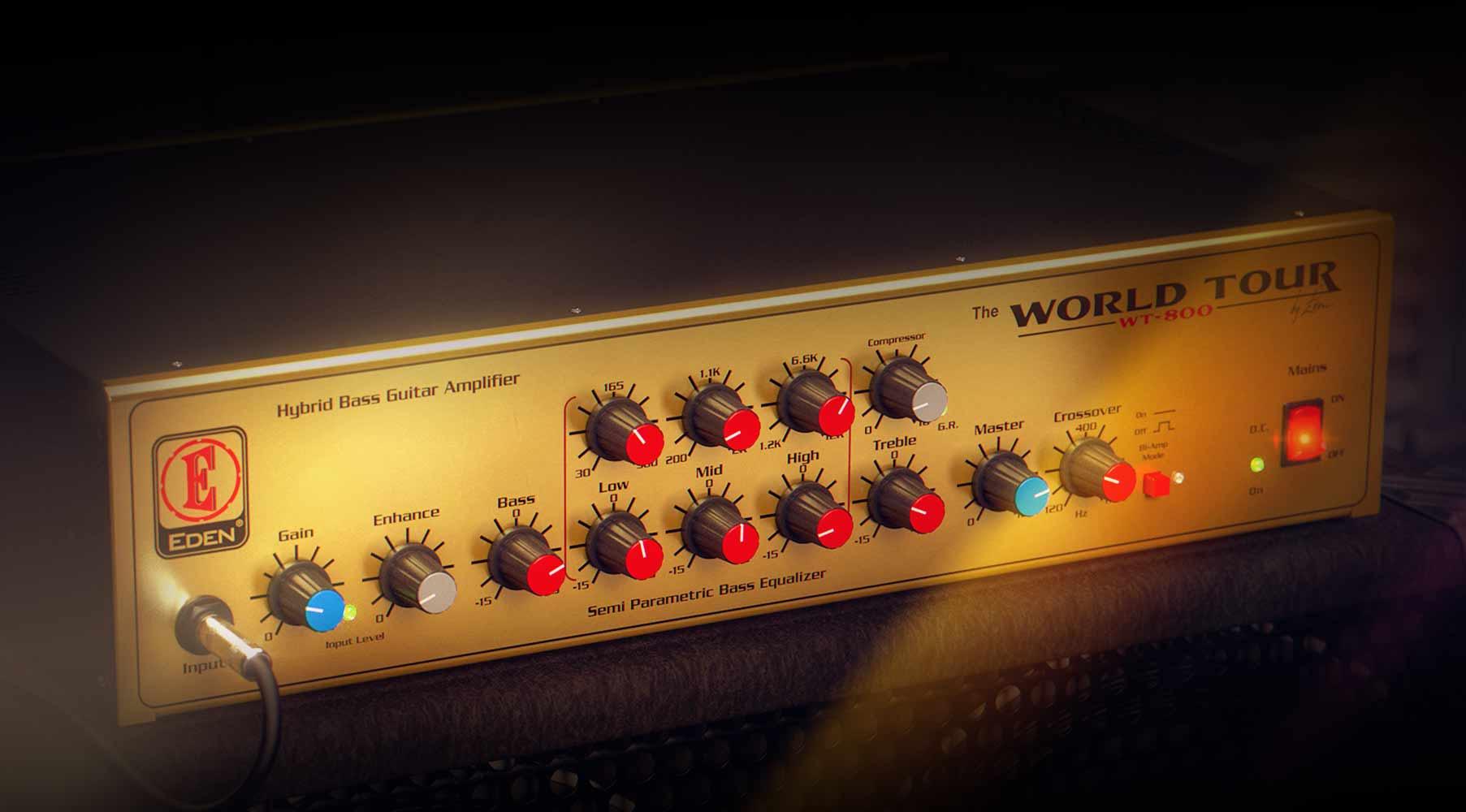 Eden WT800 Bass Amplifier