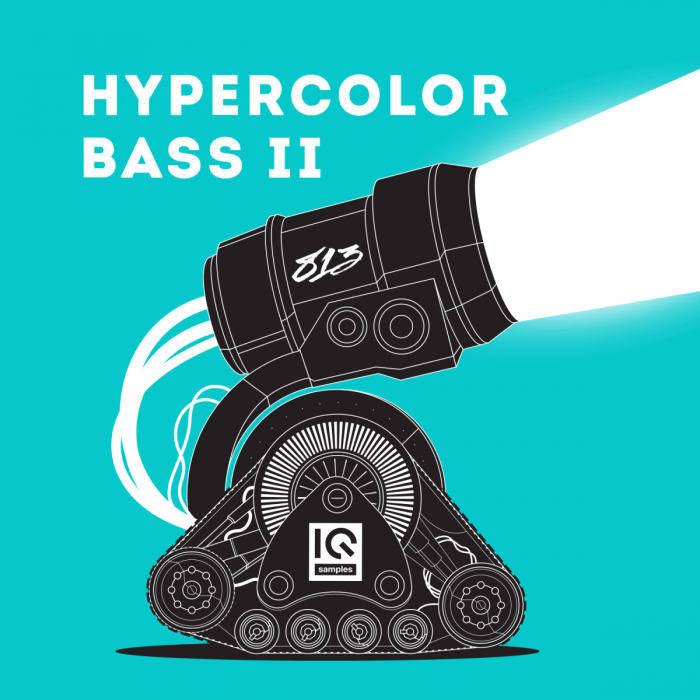 IQ Samples Hypercolor Bass II