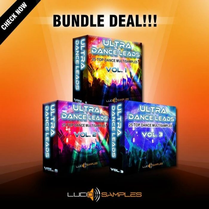 Lucid Samples Ultra Dance Leads Bundle