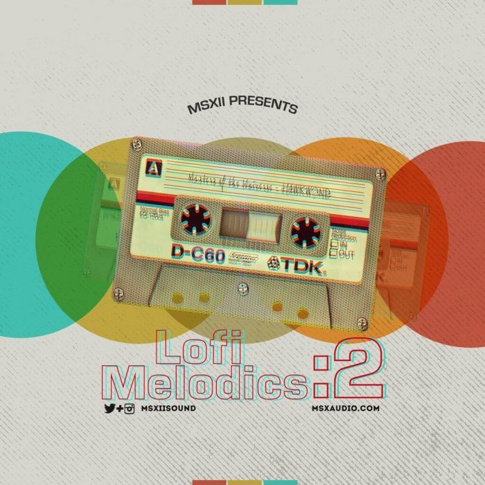 LoFi Melodics 2 by MSXII Sound Design released at Drum Broker