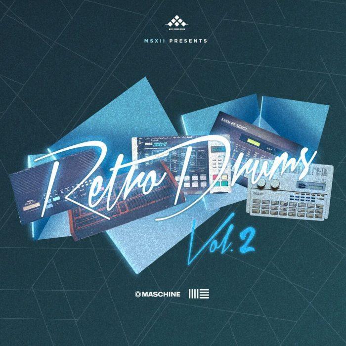 MSXII Sound Design Retro Drums Vol 2