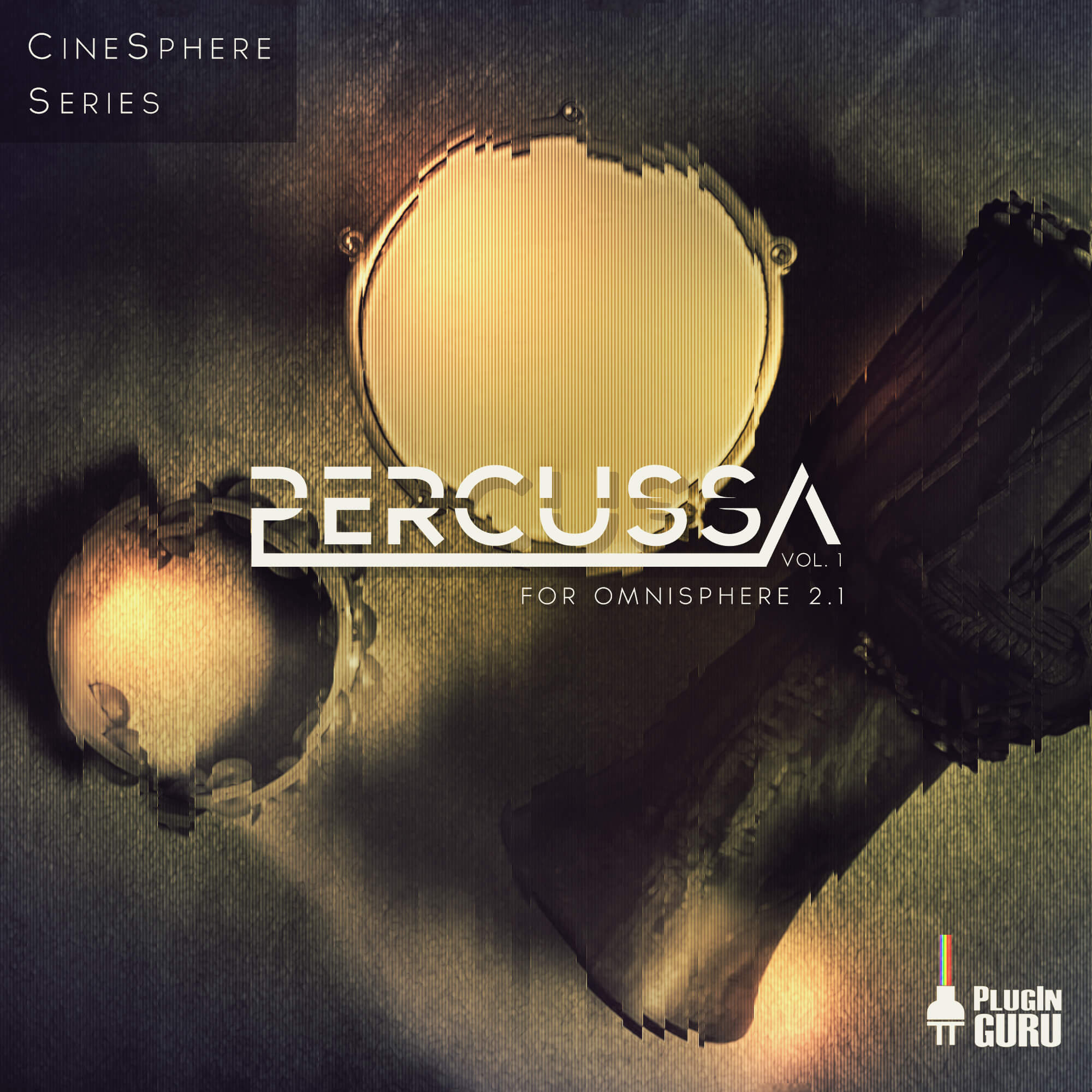 Cinematic Percussion Grooves by PlugInGuru for Omnisphere 2