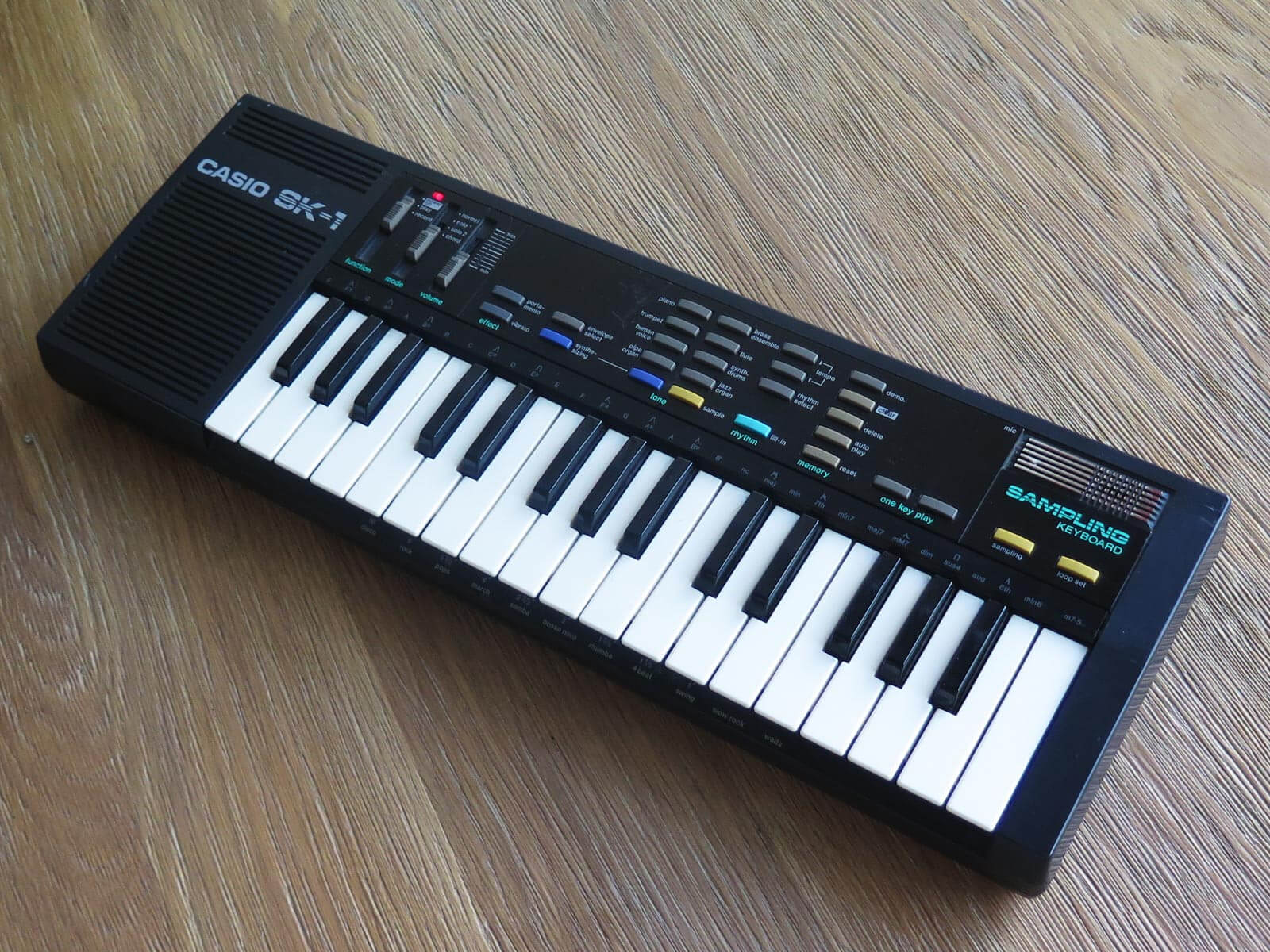 SK1 From Mars sample pack offers sounds of the Casio SK-1