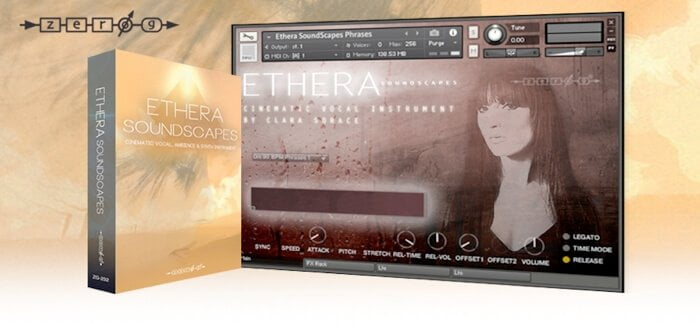 Zero-G Ethera Soundscapes for Kontakt released at Time+Space