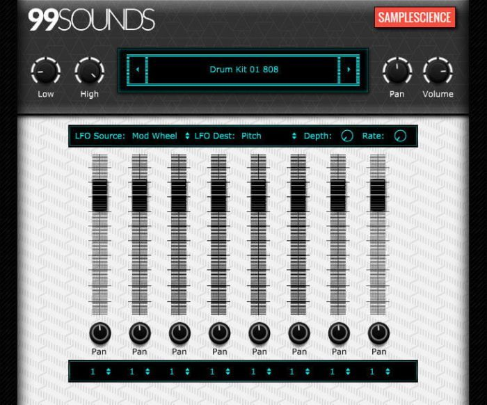 99Sounds Drum Machine