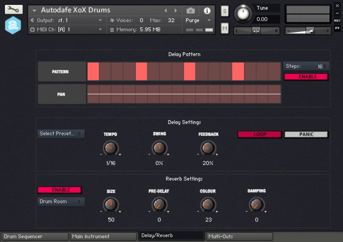 xox box free drum machine for kontakt with tr series sounds. Black Bedroom Furniture Sets. Home Design Ideas
