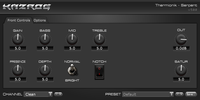 Serpent guitar amp model by Kazrog free for limited time