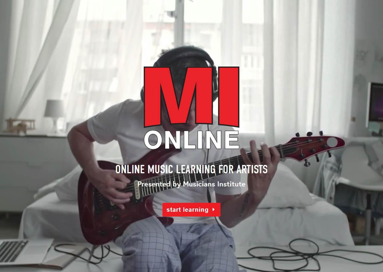 la s musicians institute launches online courses. Black Bedroom Furniture Sets. Home Design Ideas