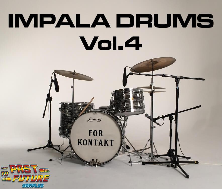 Impala Drums Vol  4 vintage 60's Ludwig Downbeat drum kit