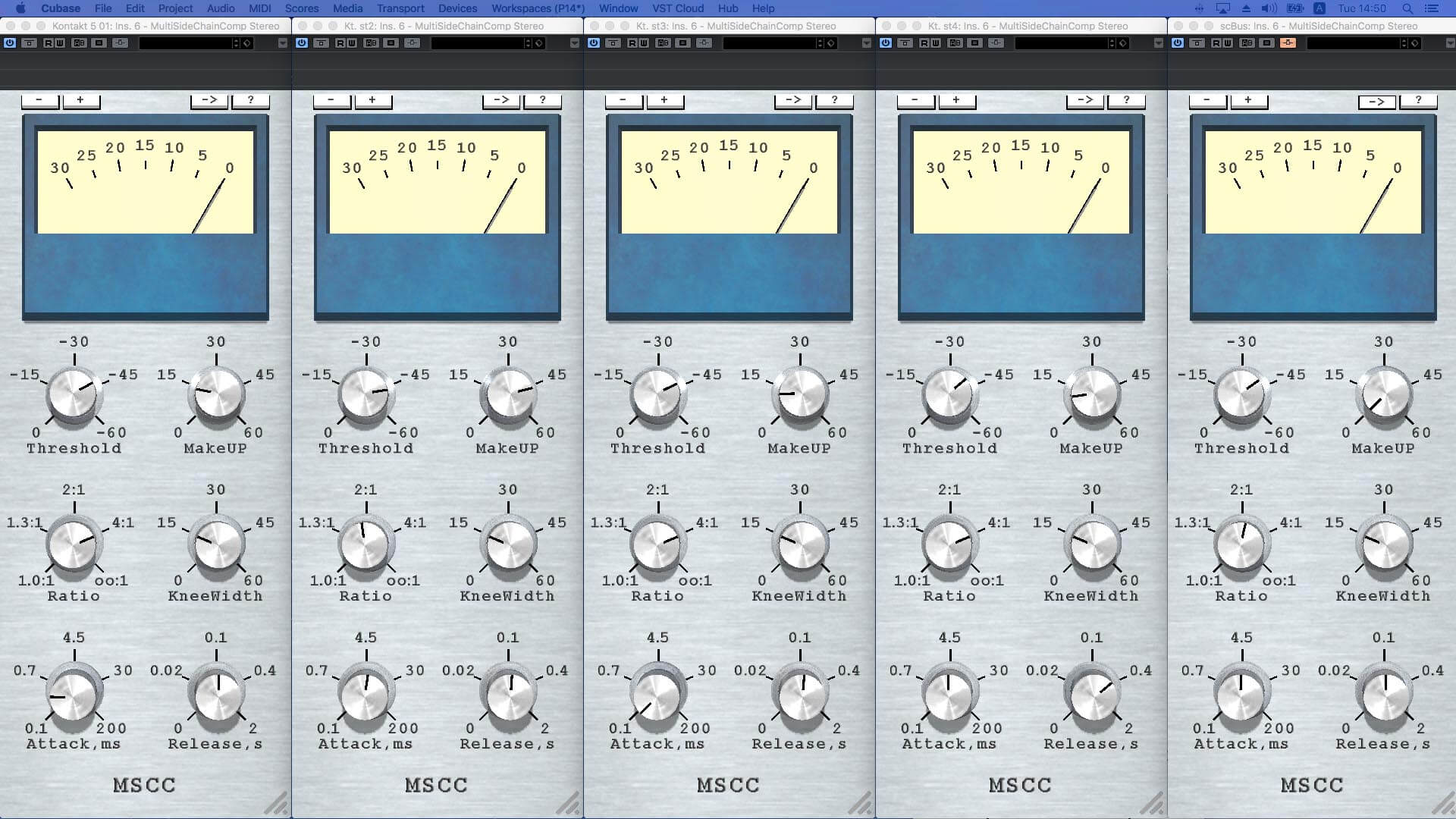 MSCC free sidechain compressor plugin (VST/AU) released