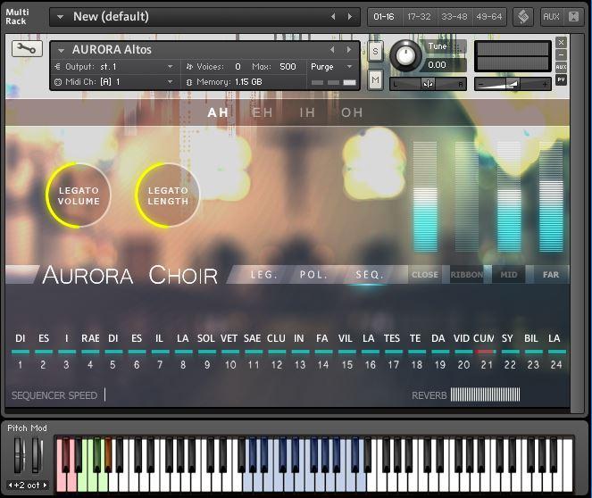 Aria Sounds Aurora Choir