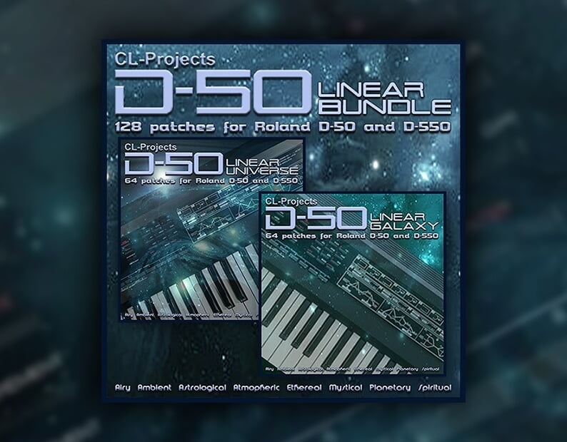 CL-Projects Linear soundset series for Roland D-50 soft synth
