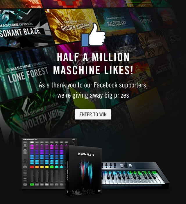 NI Maschine Facebook Giveaway