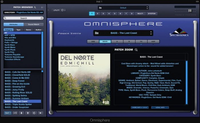 PlugInGuru Del Norte EDM Chill for Omnisphere 2