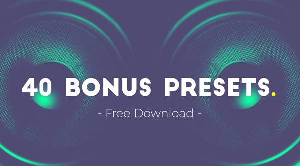 Get 40 free presets for Atom film & game sound design tool