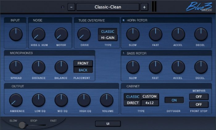 GG Audio Blue3Rotary