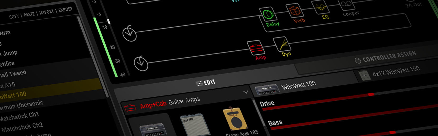 line 6 releases helix native guitar and effects plugin vst au aax. Black Bedroom Furniture Sets. Home Design Ideas