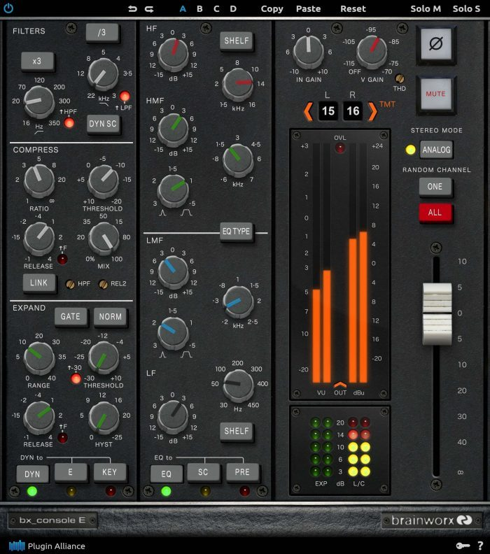 Plugin Alliance bx console E