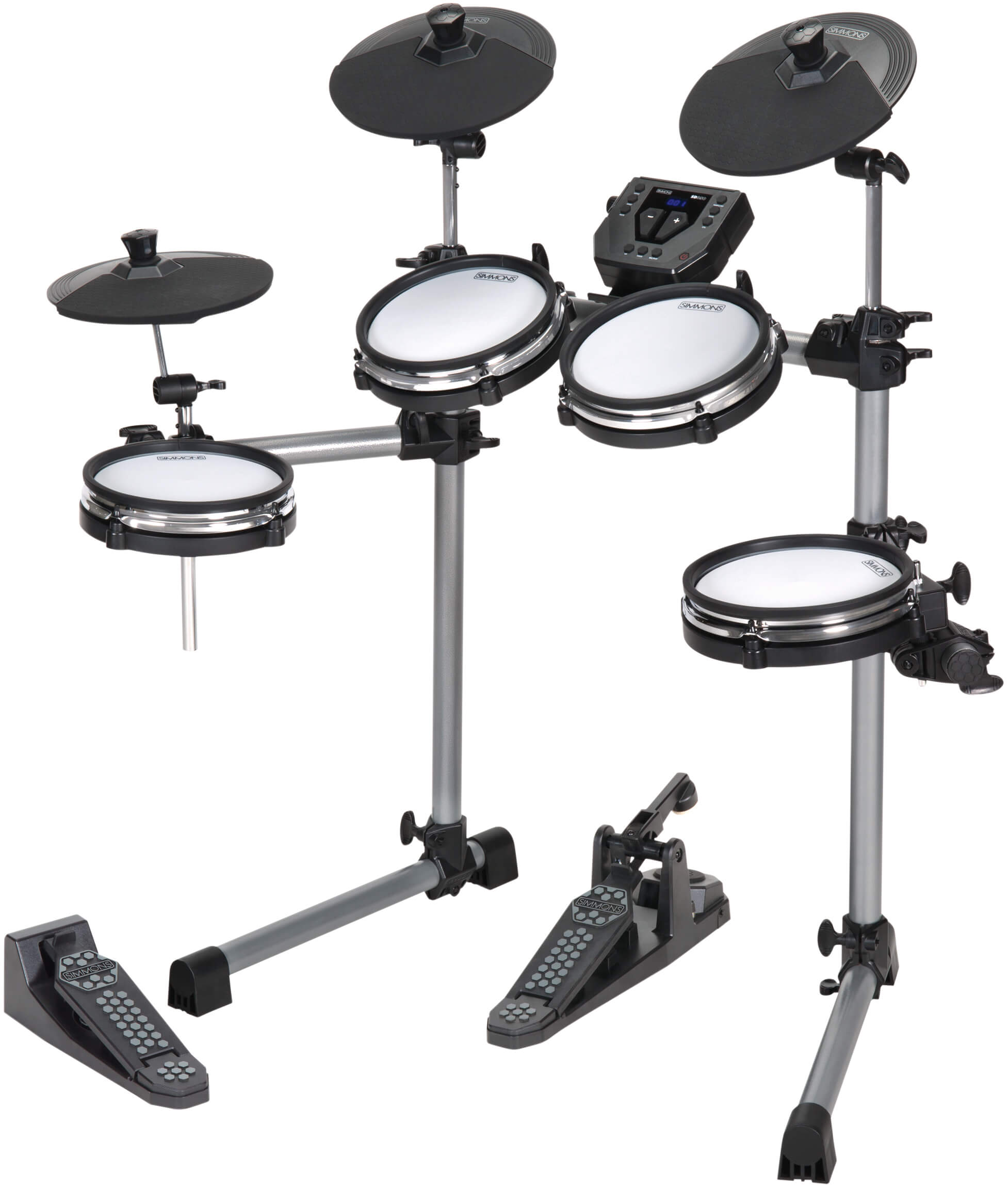 Simmons releases SD350 Mesh-Head Electronic Drum Kit