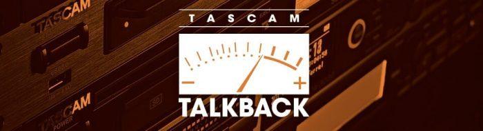 TASCAM Talkback