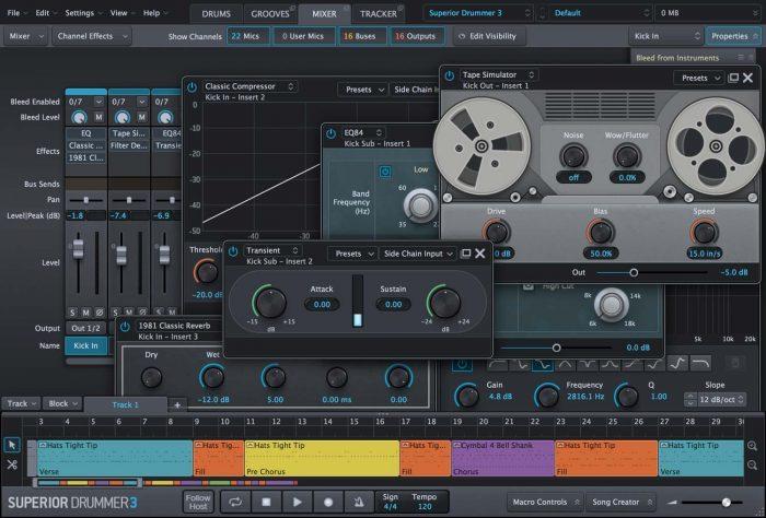 Toontrack Superior Drummer 3 Mixer