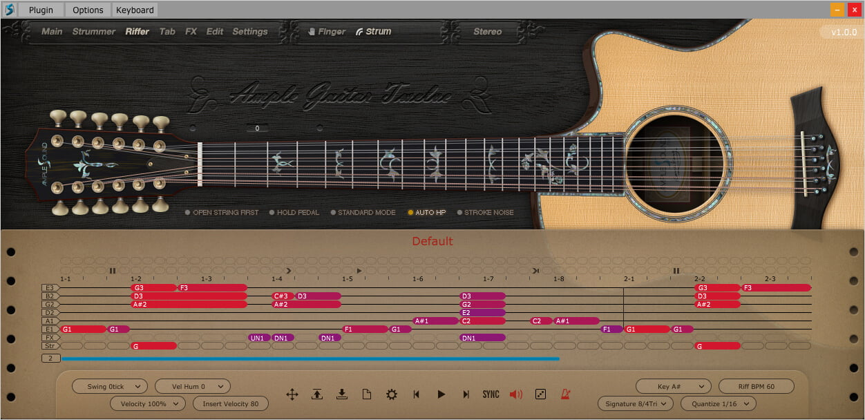 Ample Sound releases AGT12 virtual Taylor 956ce 12-string guitar