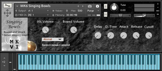 MkVI Audio Singing Bowls