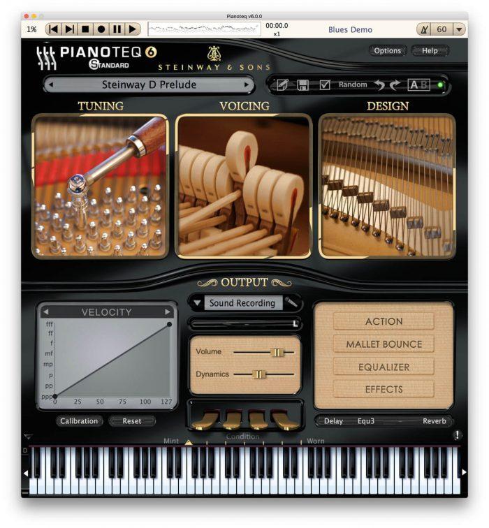 Modartt Pianoteq 6 GUI