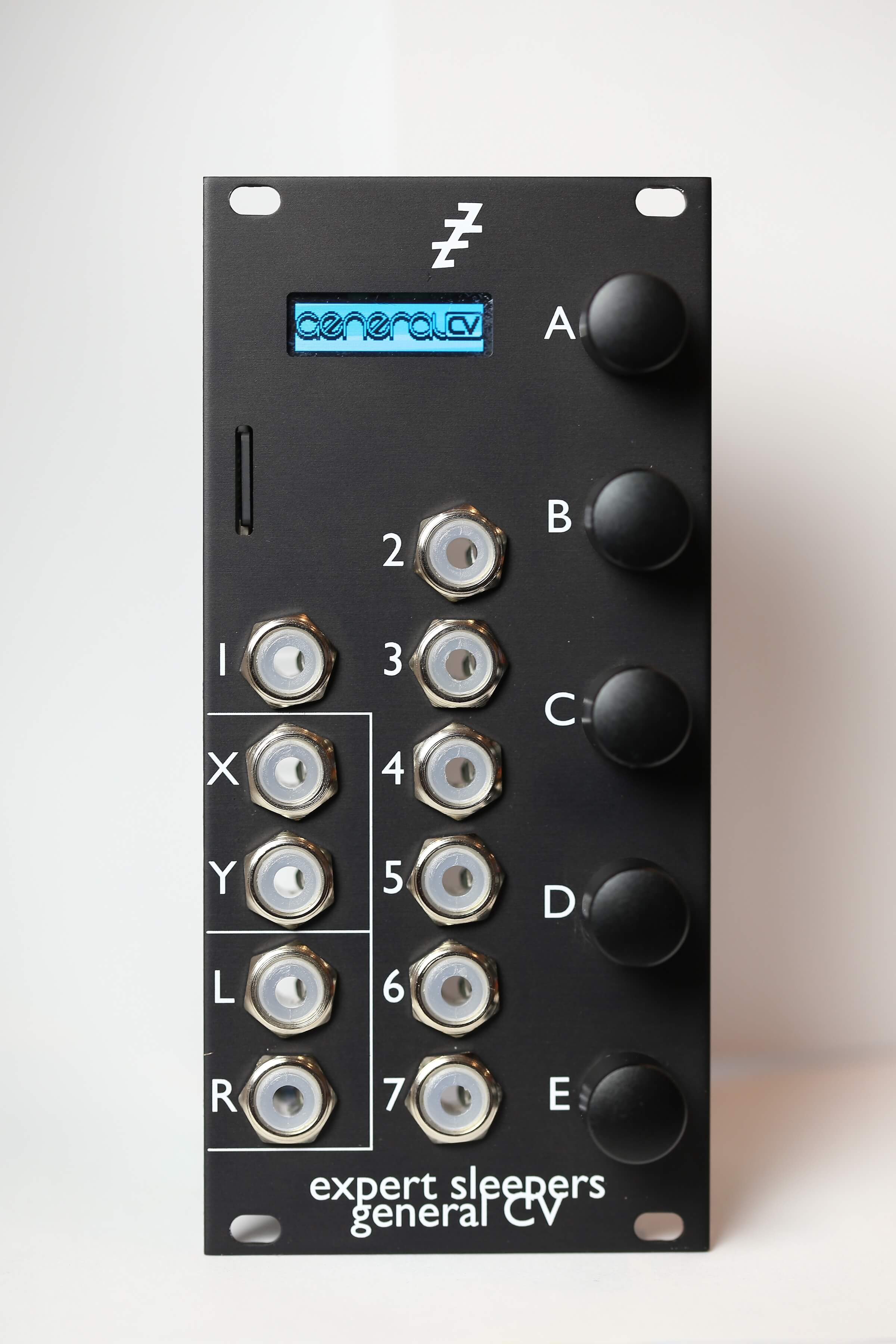 Expert Sleepers General CV General MIDI synthesizer Eurorack