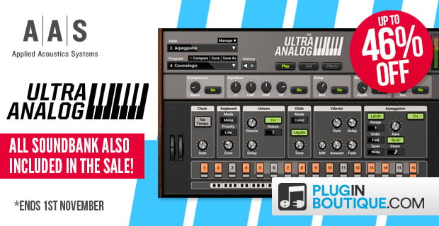 Plugin Boutique AAS Ultra Analog VA 2 sale