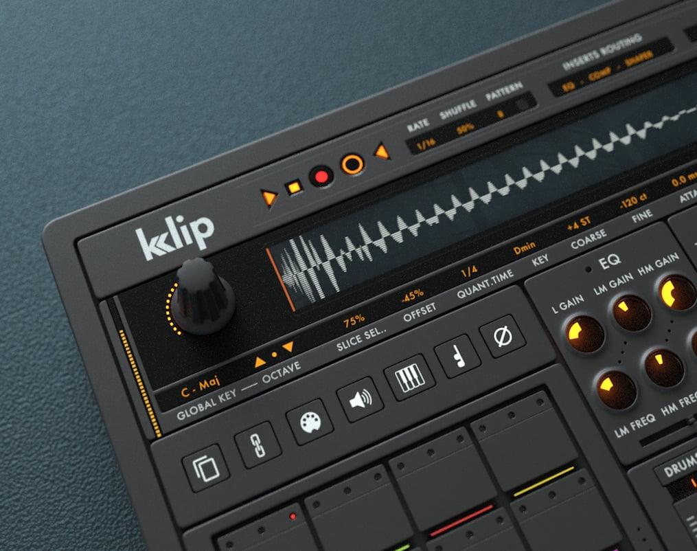 sample magic releases klip drum machine instrument for kontakt. Black Bedroom Furniture Sets. Home Design Ideas