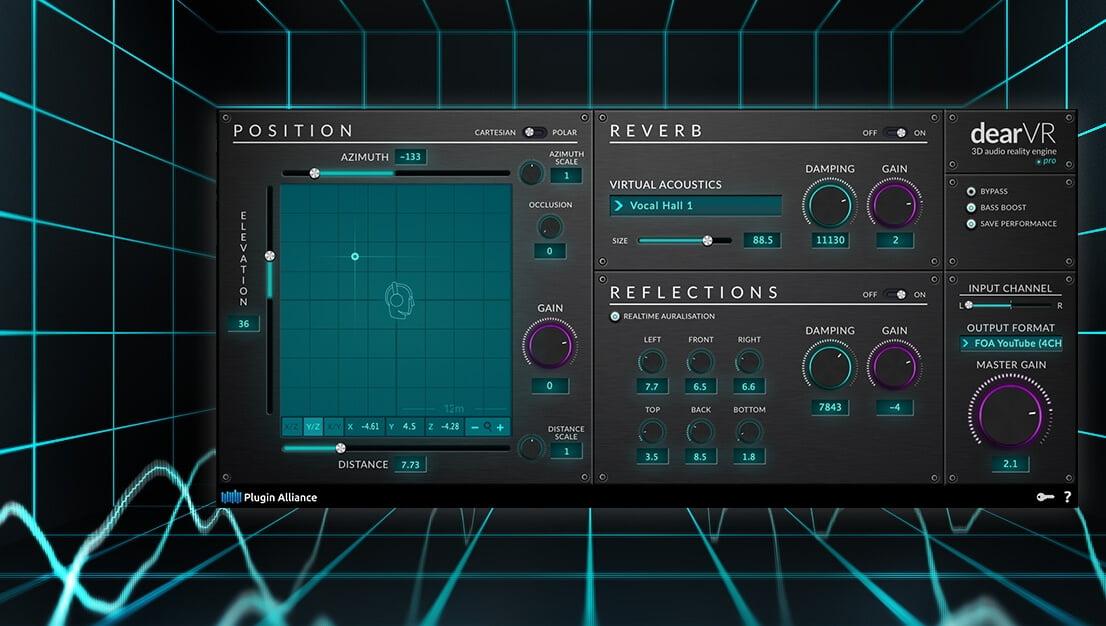 Plugin Alliance releases dearVR music and dearVR pro 3D